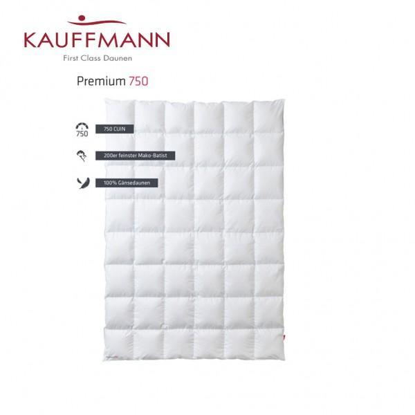 Kauffmann Premium 750 Daunendecke
